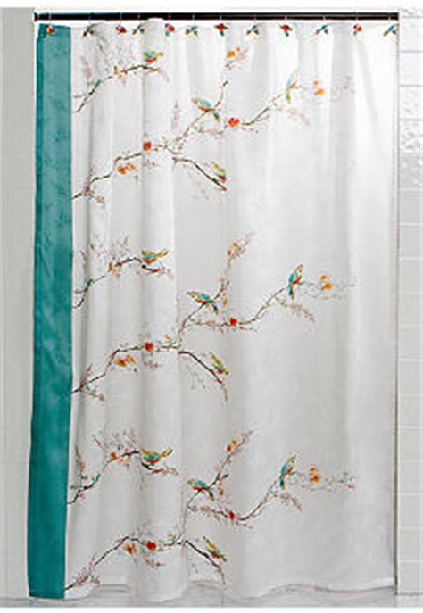 Lenox Shower Curtains Lenox Chirp Shower Curtain