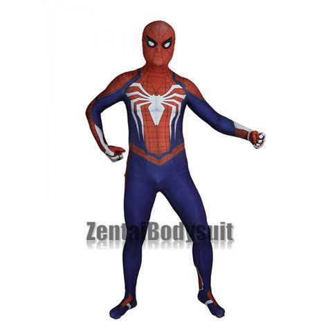 Insomniac Spidermanps4 Pattern spider costume ps4 insomniac suit