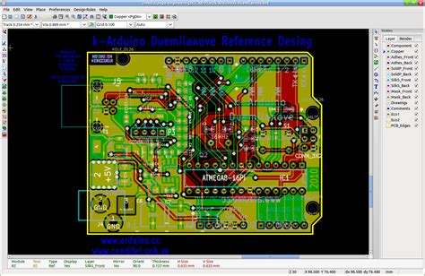 pcb layout software kicad kicad screenshot