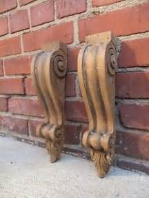 Oak Corbels And Brackets Uk Antique Pair Victorian Architectural Salvage Oak Wood