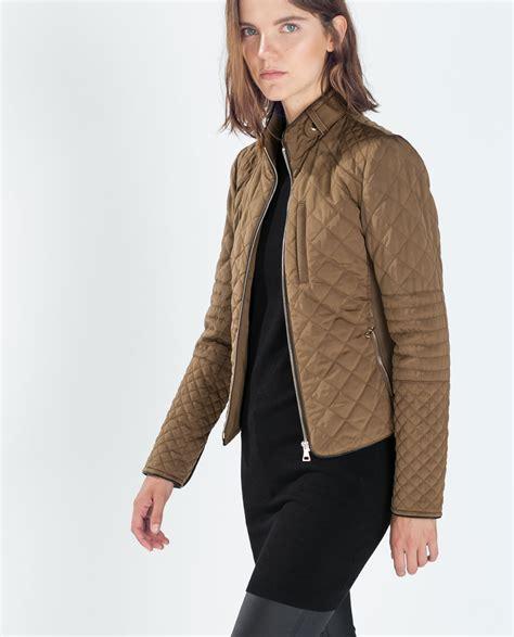 cazadoras cuero mujer zara chaquetas y abrigos mujer zara