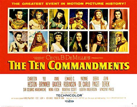 Paramount Home Decor Ten Commandments The 1956