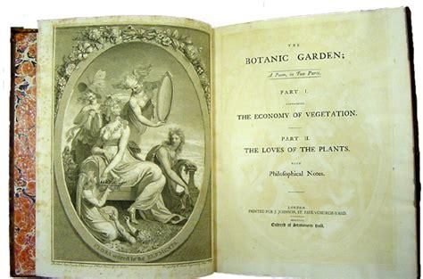 University Of South Carolina Libraries Rare Books And Erasmus Darwin Botanic Garden