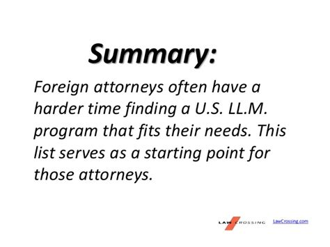 best llm programs best llm programs for foreign attorneys