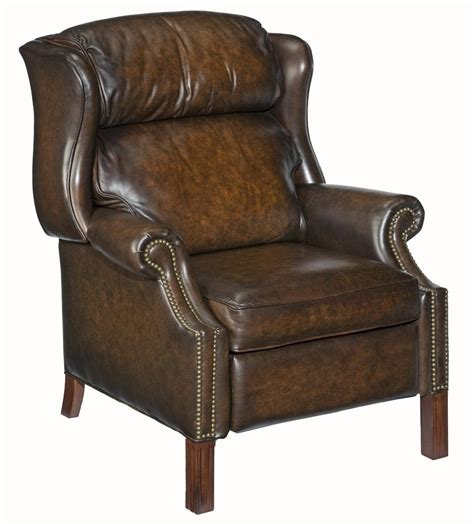 high leg wingback recliner hooker furniture reclining chairs high leg wing recliner