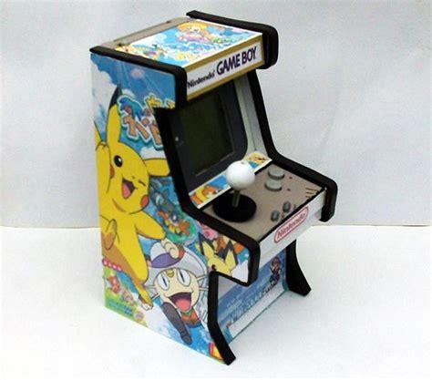 Gameboy Arcade Mod | mini arcade shaped gameboy mod gadgetsin