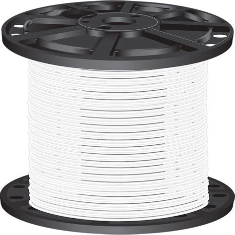southwire 2 500 ft 10 white stranded cu xhhw wire