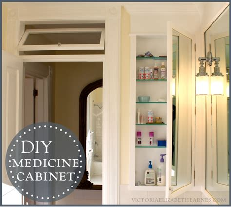 build recessed medicine cabinet diy bath remodel diy medicine cabinet