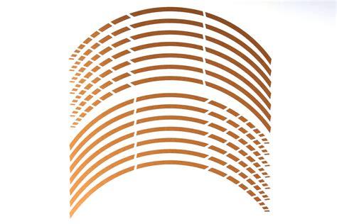 Felgenrandaufkleber Gold by Gp 22 Quot Felgenaufkleber In Der Farbe Brushed Gold