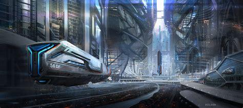 concept ships spaceship art  juan pablo roldan