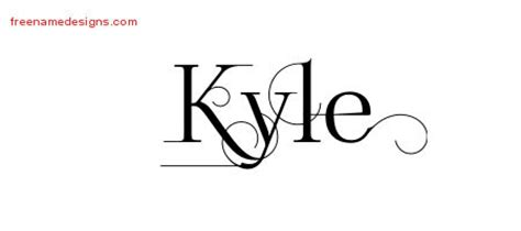 tattoo name kyle kyle archives page 3 of 3 free name designs