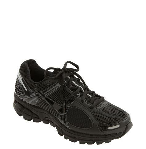 black nike running shoes nike zoom vomero 5 running shoe in black black