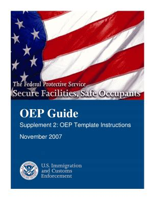 federal oep guide 2015 fill online printable fillable