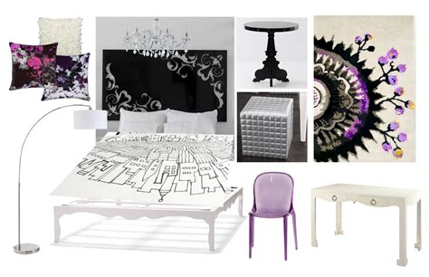 black white purple bedroom purple bedroom home interior design ideashome interior