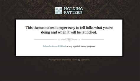 holding pattern phrase meaning holding pattern