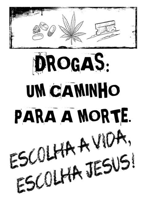 Cartazes contra as drogas, álcool e cigarro para imprimir