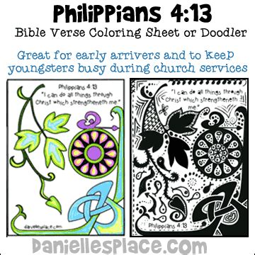 Coloring Page For Philippians 4 13 by Philippians 4 13 Quot I Can Do All Things Through