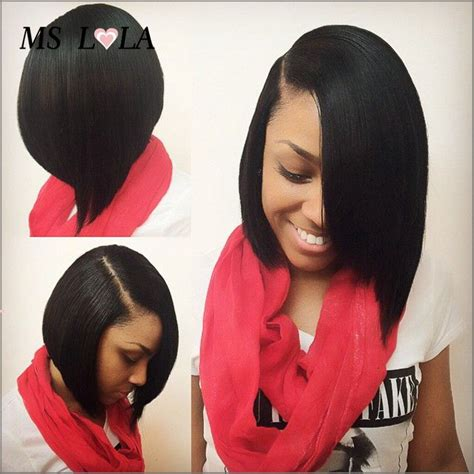 bob cut wigs african americans find more human wigs information about brazilian side part