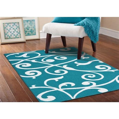 76 Best Images About Rugs On Pinterest Great Deals Teal And White Area Rug