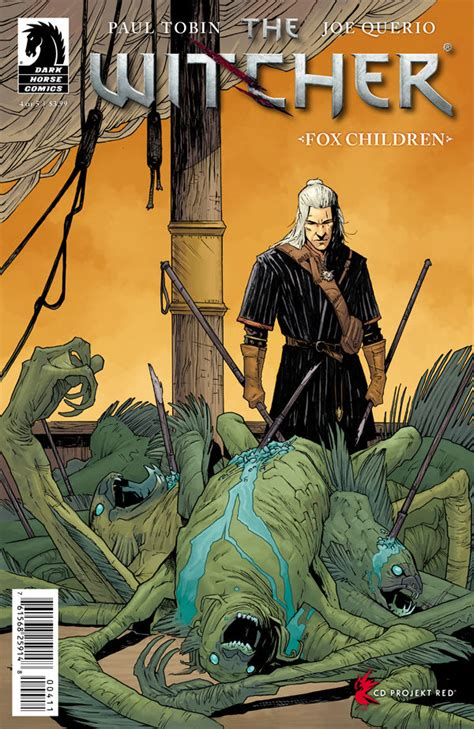 the darkest fox project issue 1 books the witcher fox children 4 comics review gamer