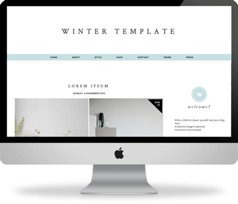Winter Templates For Blogger | download winter the blogger template winter is a chic