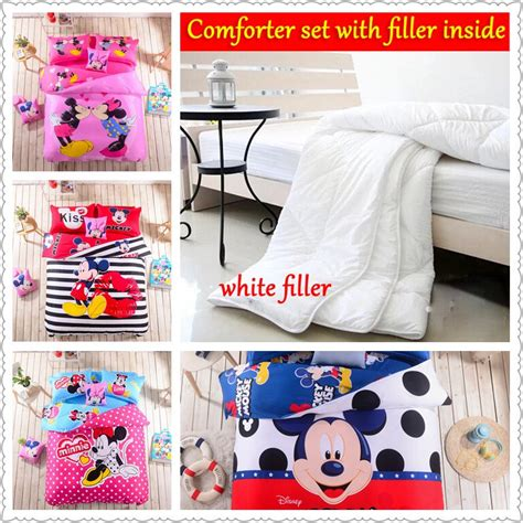 mickey and minnie mouse comforter set queen size popular minnie mouse comforter set buy cheap minnie mouse