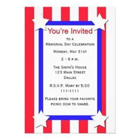 Richies Memorial Day Invitation by Invitation Flyer Word Free Flyer Designs