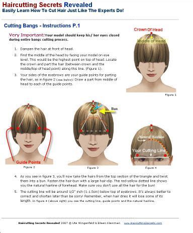 Cutting The Fringe haircutting secrets revealed easily learn how to cut