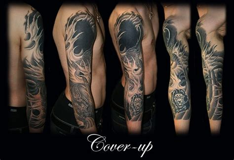 tattoo cover up red over black black cover up sleeve tattoo ink pinterest japanese