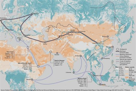 silk road map redrawing new silk road china to shift its focus to