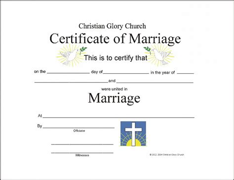 license template marriage certificate template certificate templates