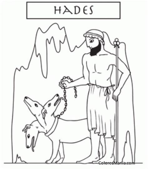imagenes del dios zeus para imprimir colorear hades el plutn romano 2 mitologa griega