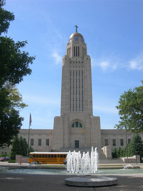 city lincoln nebraska lincoln state capital state symbols usa
