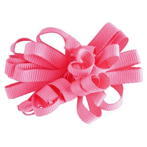 Hair Clip Mini Fuschia Clip 6 korker hair bow wholesale curly hair
