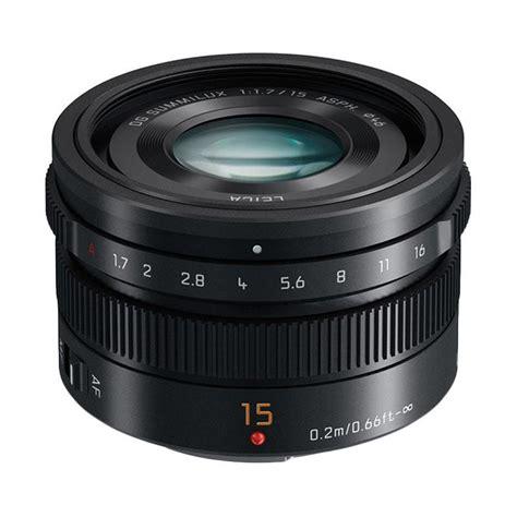 Kamera Panasonic Leica jual panasonic lumix lens g 15mm f 1 7 asph leica dg summilux harga kualitas