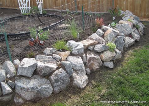 How To Build A Rock Garden Bed Garden Project Building A Raised Bed
