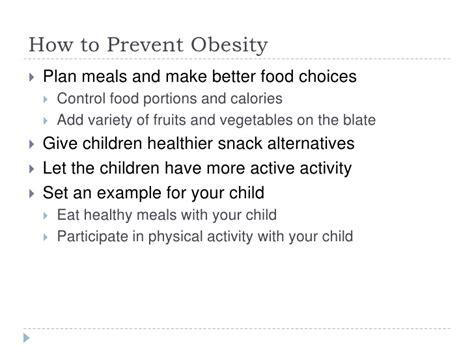 10 Ways To Avoid Obesity by Childhood Obesity