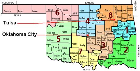 image gallery large oklahoma state map state division map with county names shown cwp maps
