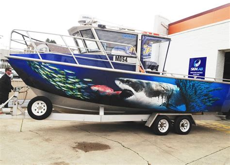 vinyl fishing boat wraps any thoughts on vinyl wraps for boats bloodydecks