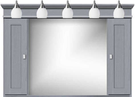 48 medicine cabinet with lights strasser medicine cabinets with shaker style doors