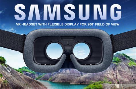 Headset Vr Samsung Samsung Vr Headset Met Flexibel Display Biedt Meer Zicht