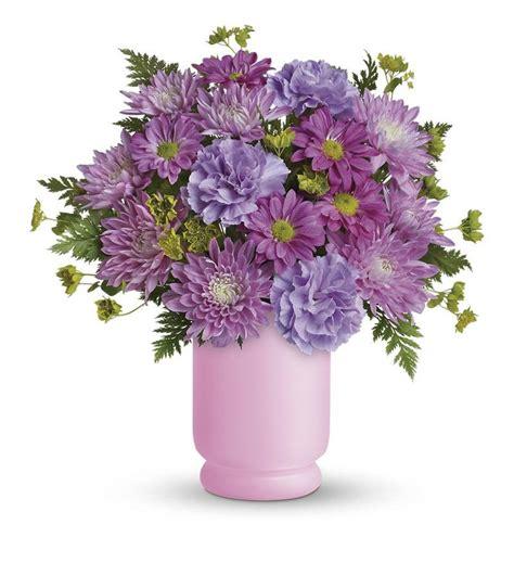 Premium Happy Syari Purple poetry in purple bouquet by teleflora tev24 3a 33 26