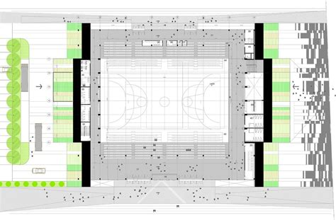 multi purpose hall floor plan gallery of multi purpose sports hall competition entry