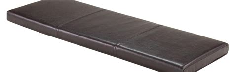 leather bench cushion amazon com winsome wood boris bench cushion seat home