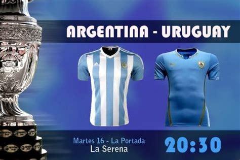 Cuando Juega Argentina 20 30 Juega Argentina Vs Uruguay Copa Am 233 Rica Taringa