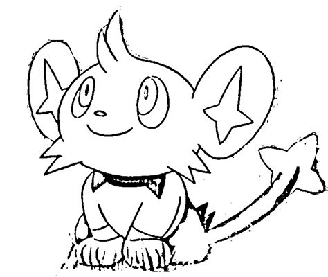 pokemon coloring pages shinx pokemon diamond coloring pages az coloring pages