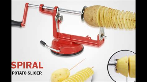 Kentang Slicer spiral potato slicer pemotong kentang spiral