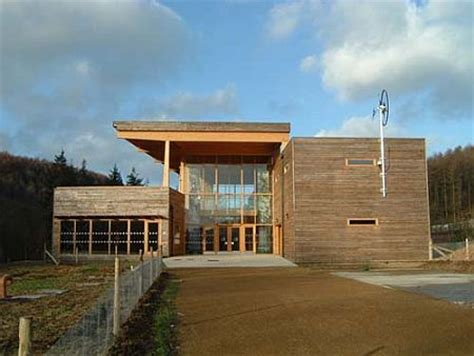 Dalby Forest Eco Friendly Visitor Centre Opens by Best Building 2007 Dalby Forest Visitor Center