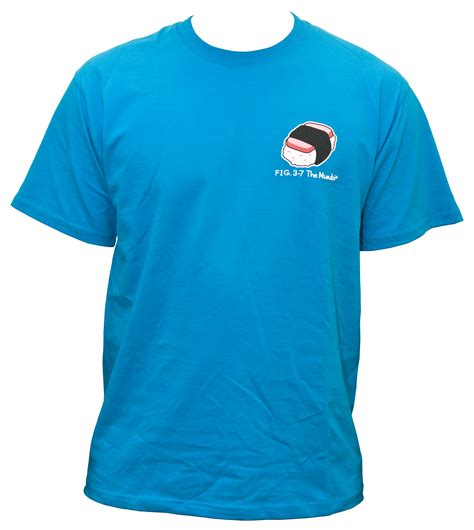 t shirt musubi teal t shirt foodland