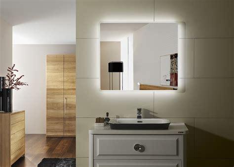lighted bathroom vanity mirror prague iv lighted led bathroom vanity mirror